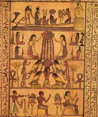 Древнеегипетская книга мертвых Слово устремленного к